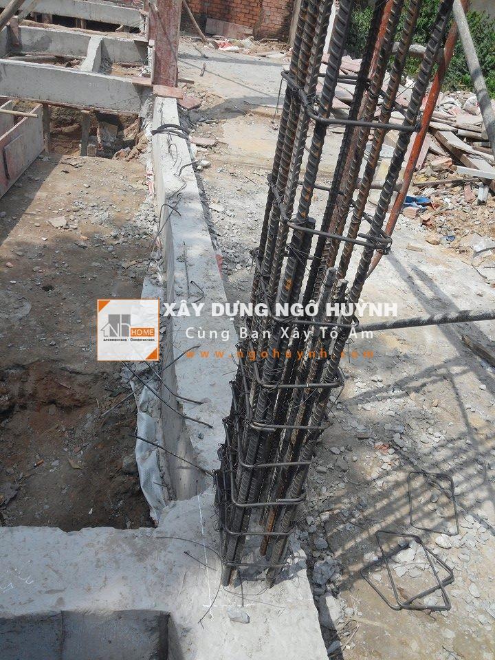 Lap Dung Cot Thep Khi Đã Lắp Dựng Cốt Thép