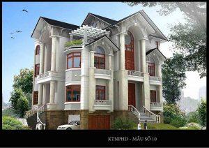 xây nhà 2 tầng 7
