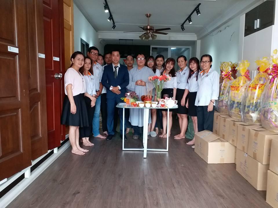 Công ty xây dựng Ngô Huỳnh cúng giỗ tổ ngành xây dựng 04