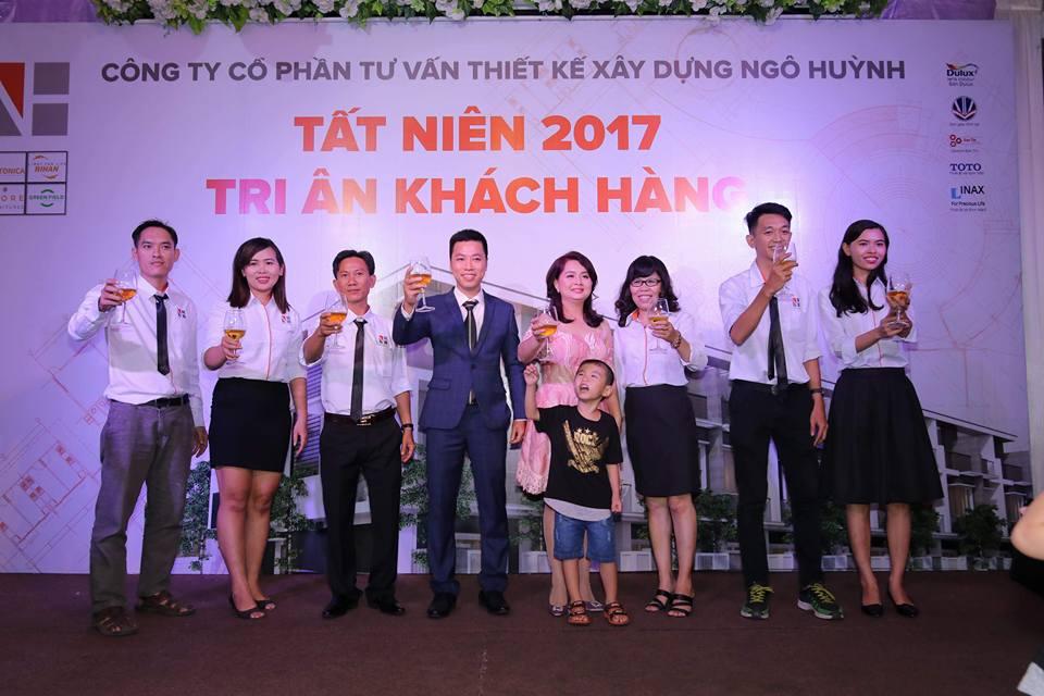 Ảnh công ty Ngô Huỳnh tất niên 2017 02