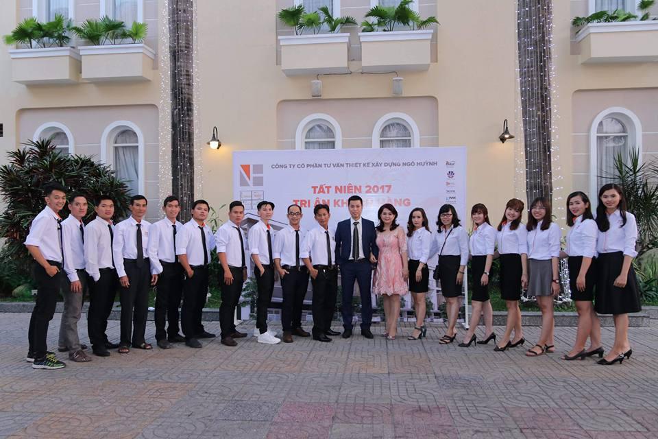 Ảnh công ty Ngô Huỳnh tất niên 2017 08