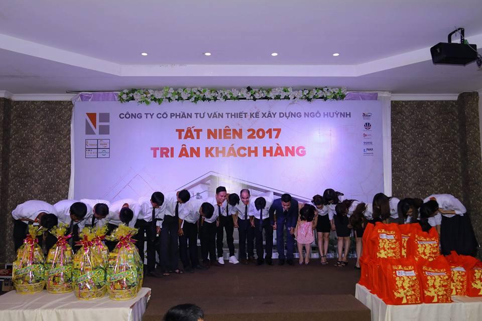 Ảnh công ty Ngô Huỳnh tất niên 2017 11