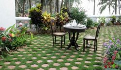 Phong thủy nhà ở: cách lát đá sân vườn