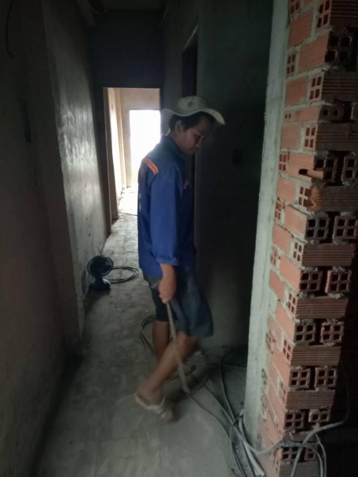 Ảnh Ngô Huỳnh lắp đặt hệ thống điện nước quận Bình Thạnh 02