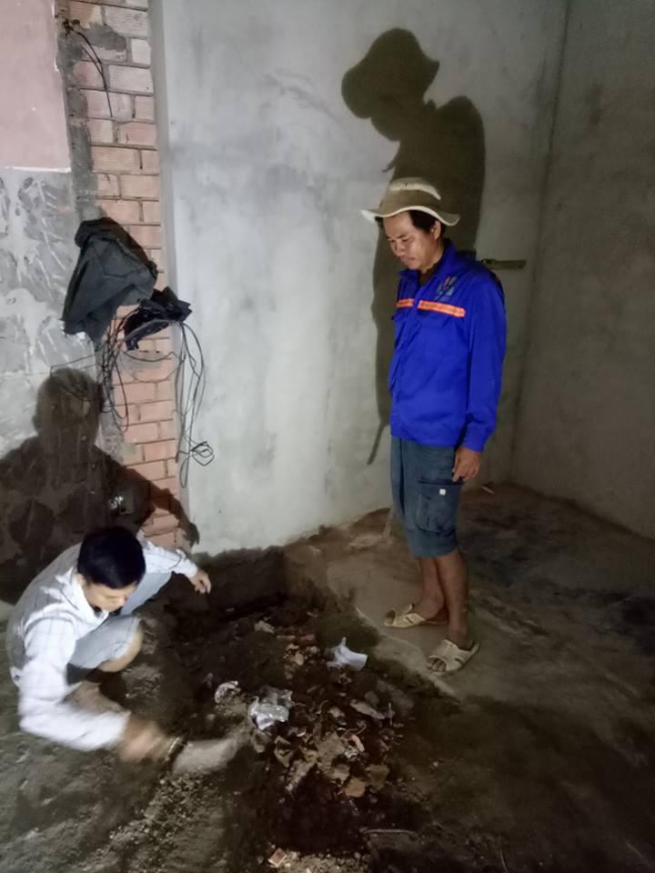 Ảnh Ngô Huỳnh lắp đặt hệ thống điện nước quận Bình Thạnh 01