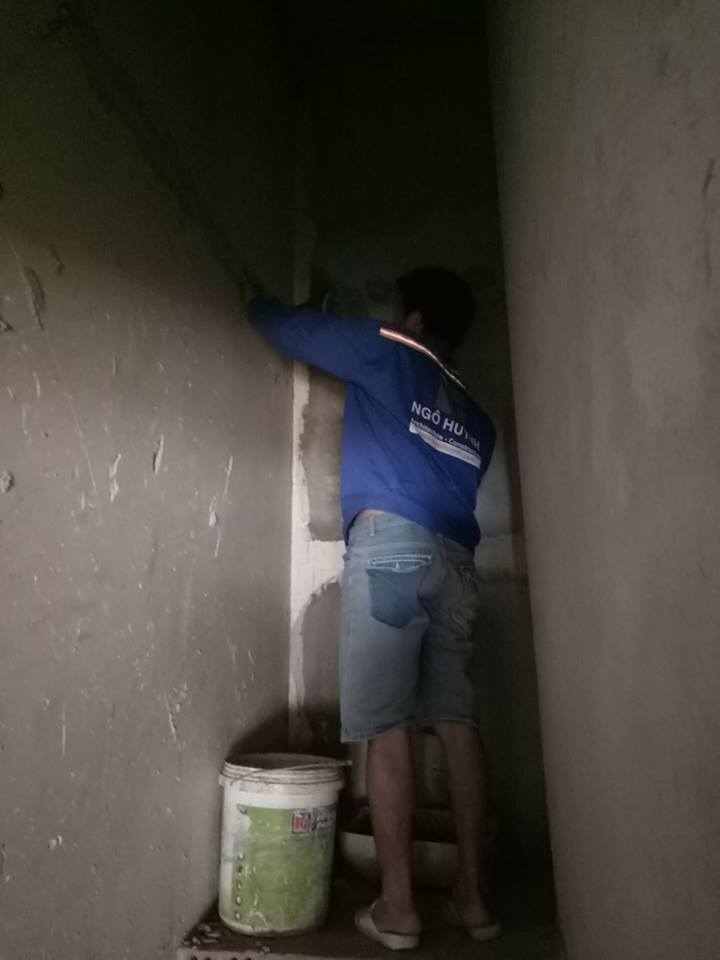 Ảnh lắp đặt hệ thống điện nước nhà chú Lĩnh Bình Thạnh 03
