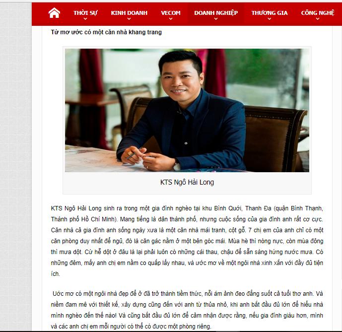XD Ngô Huỳnh được báo thương gia và thị trường nhắc đến 01