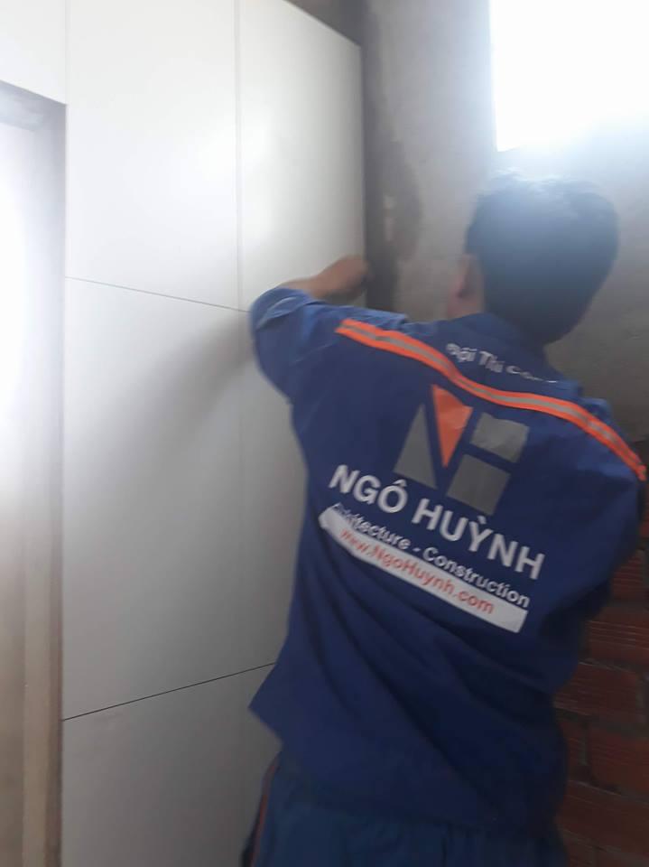 XD Ngô Huỳnh thi công nhà ở Bình Thạnh nhà chú Tới 02