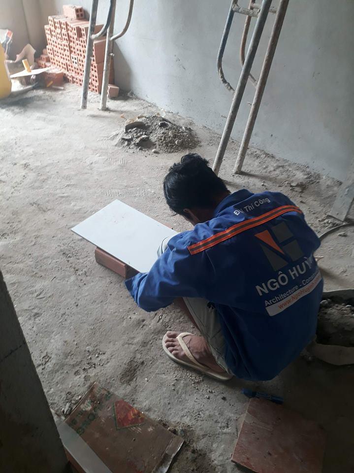 XD Ngô Huỳnh thi công nhà ở Bình Thạnh nhà chú Tới 05