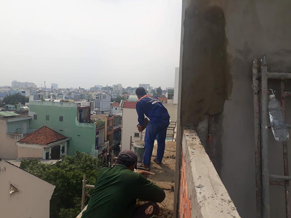 XD Ngô Huỳnh thi công nhà ở Bình Thạnh nhà chú Tới 01