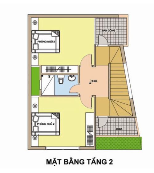 XD Ngô Huỳnh tư vấn thiết kế xây nhà trên đất méo 03