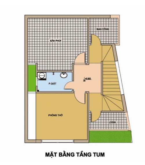 XD Ngô Huỳnh tư vấn thiết kế xây nhà trên đất méo 04