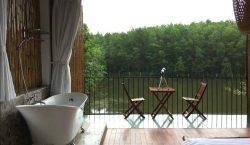 Ngôi nhà với thiết kế xanh hòa cùng thiên nhiên