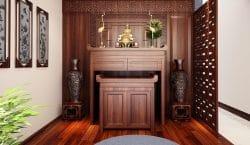 Việc lựa chọn bàn thờ đúng kích thước có ý nghĩa vô cùng quan trọng đối với không gian thờ cúng của mỗi gia đình