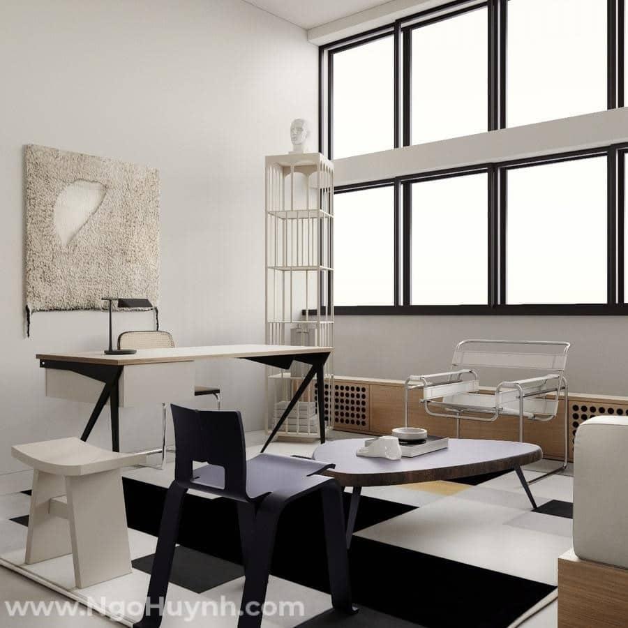 Những nét đặc trưng cơ bản trong phong cách kiến trúc Bauhaus