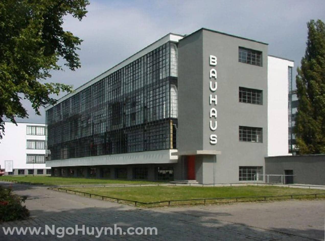 Công trình kiến trúc tiêu biểu – Trường đại học Bauhaus