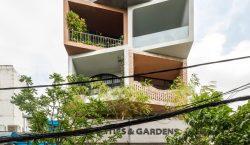 Tòa nhà Cities & Gardens tọa lạc tại trung tâm thành phố Hồ Chí Minh