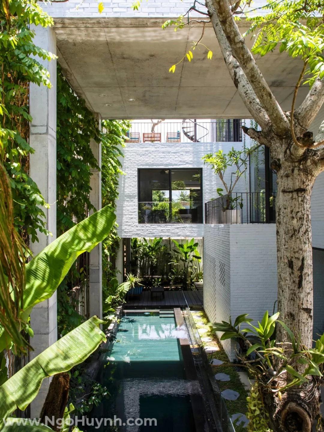 Một ngôi nhà được thiết kế thông gió tự nhiên sẽ tạo nên một môi trường có không khí trong lành và thoáng mát hơn