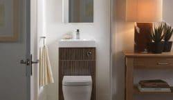 Mẹo thiết kế nhà vệ sinh có diện tích khiêm tốn