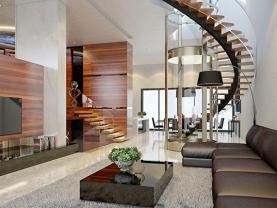 Không gian sinh hoạt trở nên rộng hơn nhờ thiết kế nhà 3 tầng hiện đại