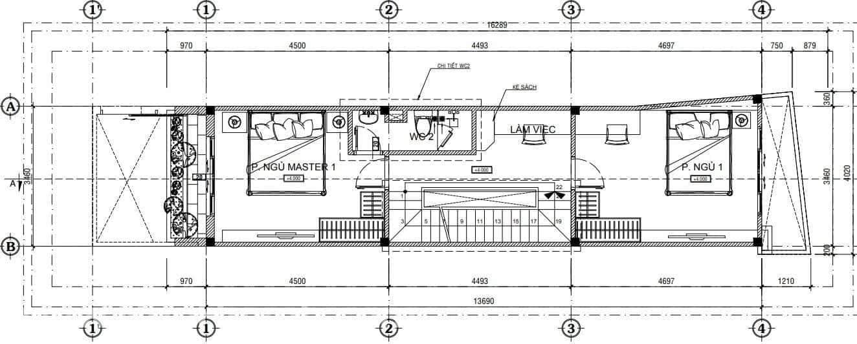 Nên thiết kế phòng ngủ với diện tích bao nhiêu là hợp lý (2)