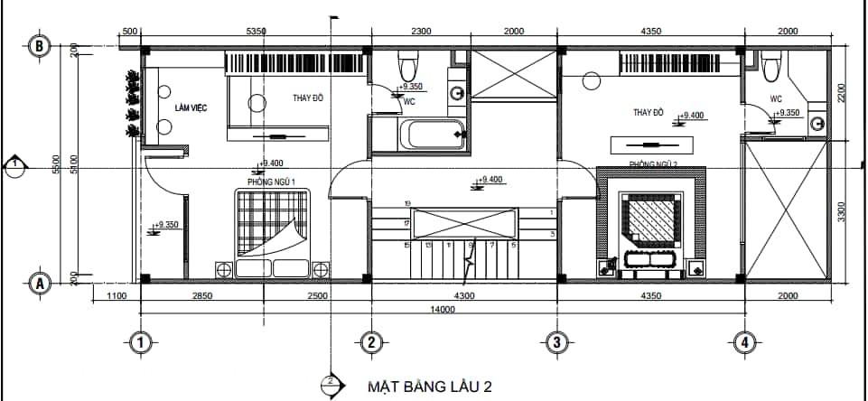 Nên thiết kế phòng ngủ với diện tích bao nhiêu là hợp lý (4)