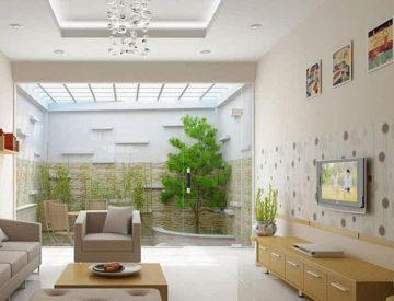 Thiết kế giếng trời đẹp trong xây dựng nhà ống (2)