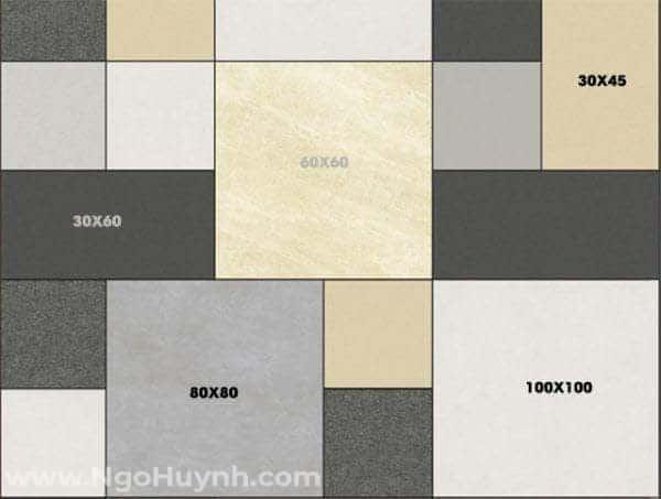 Cách chọn gạch lát nền phù hợp với từng không gian nhà ở