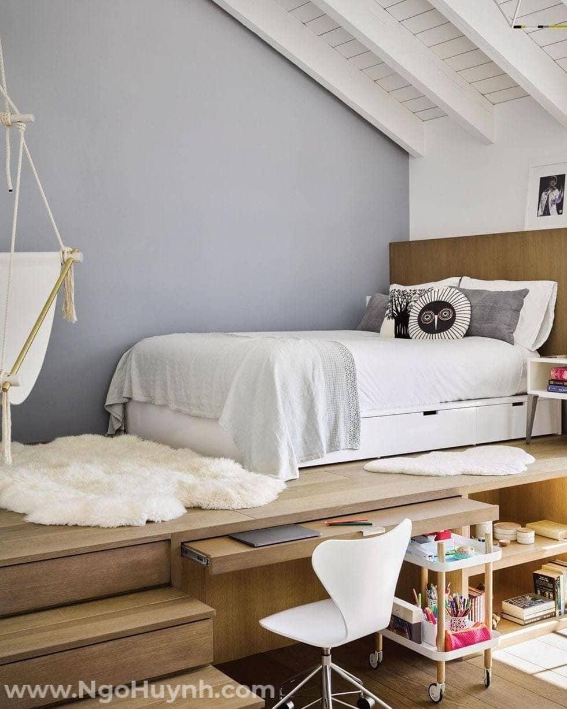 Tìm hiểu những phòng ngủ cực chất trên gác lửng